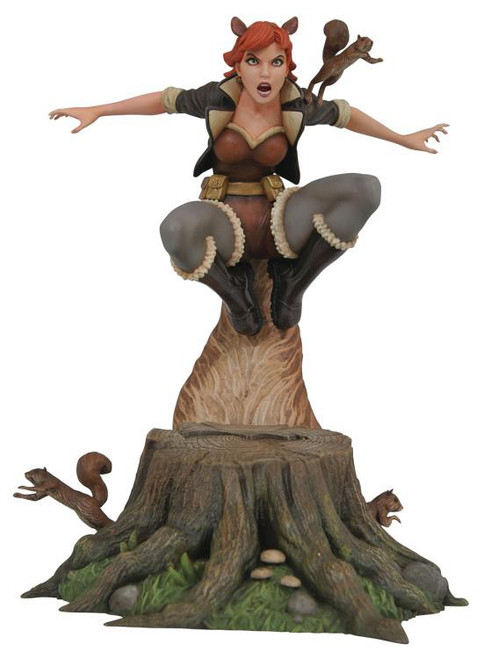Marvel Gallery Squirrel Girl 9-Inch PVC Figure Statue