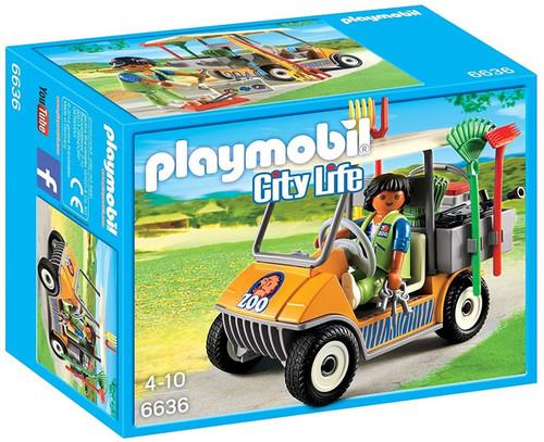 Playmobil City Life Zookeepers Cart Set #6636