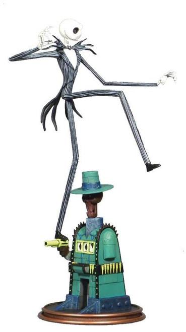 Nightmare Before Christmas Movie Gallery Jack Skellington 9-Inch PVC Figure Statue [Lair]