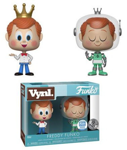 20th Funniversary Vynl. Freddy Funko Exclusive Vinyl Figure 2-Pack