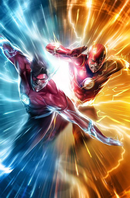 DC The Flash #51 Comic Book [Francesco Mattina Variant]