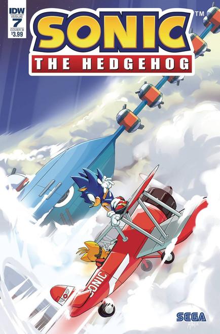 IDW Sonic The Hedgehog #7 Comic Book [Cover B Thomas]