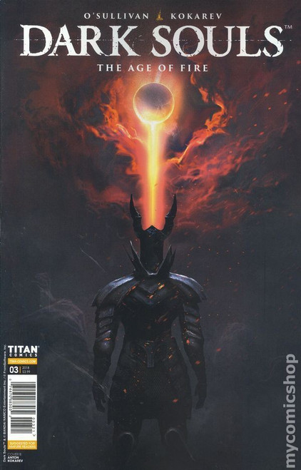 Titan Comics Dark Souls Age of Fire #3 Comic Book [Cover B]