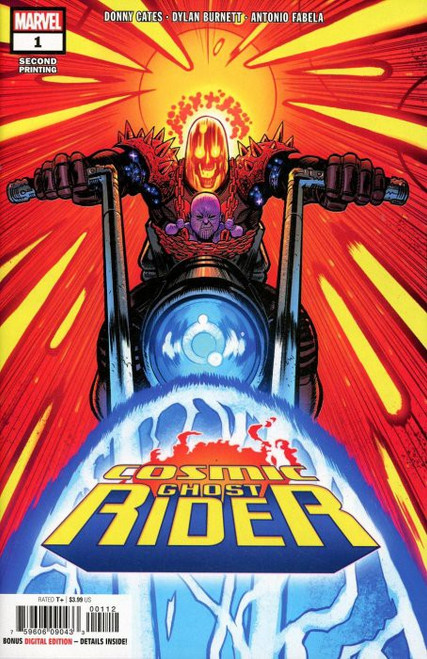 Marvel Comics Cosmic Ghost Rider #1 of 5 Comic Book [2 Printing]