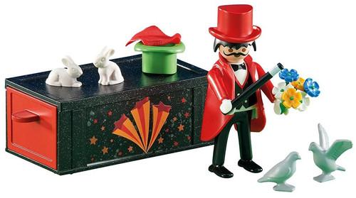 Playmobil Magician with Magic Box Set