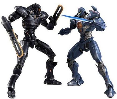 Pacific Rim: Uprising Robot Spirits Obsidian Fury & Gypsy Avenger Exclusive Battle Set 2-Pack [Siberia]