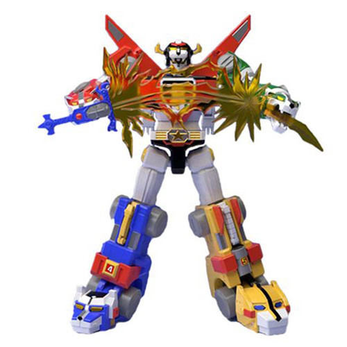 Super Mini Pla Voltron Exclusive 7.1-Inch Model Kit Figure [SDCC 2018 Exclusive Set]