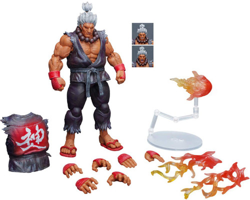 Street Fighter V Akuma Exclusive Action Figure [SDCC 2018]