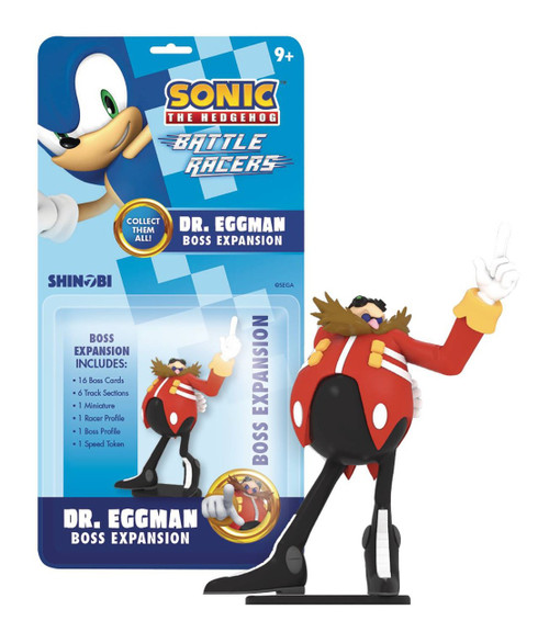 Sonic The Hedgehog Battle Racers Dr. Eggman Collectible Figure [Boss Expansion]