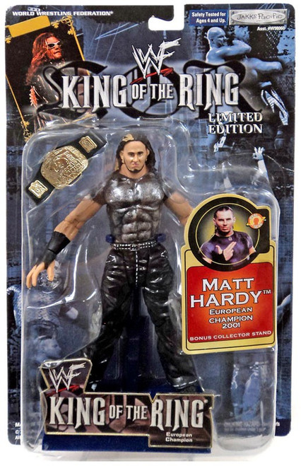 WWE Wrestling WWF King of the Ring Matt Hardy Action Figure