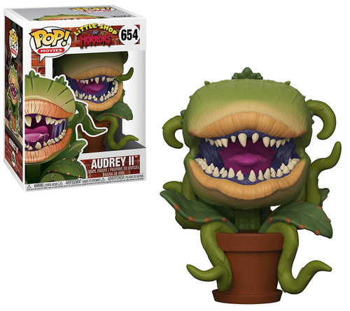 Funko Little Shop of Horrors POP! Movies Audrey II Vinyl Figure #654 [Clean, Regular Version]