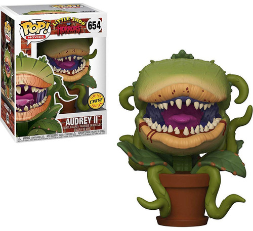 Funko Little Shop of Horrors POP! Movies Audrey II Vinyl Figure #654 [Bloody, Chase Version]
