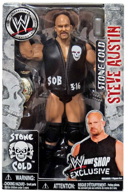 WWE Wrestling Classic Superstars Exclusives Stone Cold Steve Austin Exclusive Action Figure