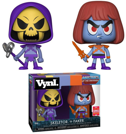 Funko Masters of the Universe Vynl. Skeletor & Faker Exclusive Vinyl Figure 2-Pack