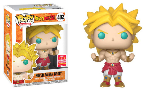 Funko Dragon Ball Z POP! Animation Super Saiyan Broly Exclusive Vinyl Figure #402