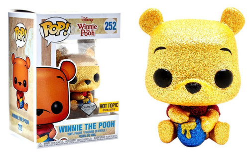 Funko POP! Disney Winnie the Pooh Exclusive Vinyl Figure #252 [Diamond Collection]