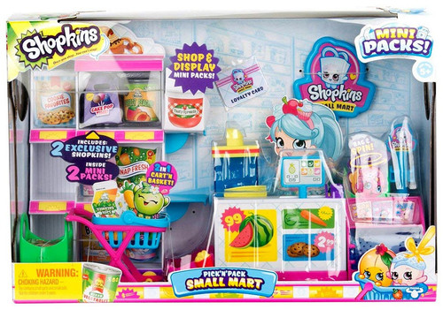 Shopkins Season 10 Pick 'N' Pack Small Mart Playset
