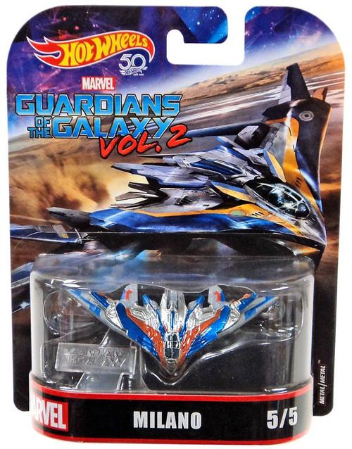 Hot Wheels Marvel Guardians of the Galaxy Vol. 2 Milano Diecast Car #5/5 [2018]
