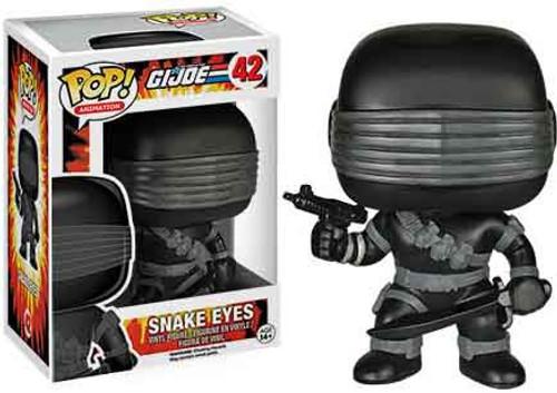 Funko GI Joe POP! Animation Snake Eyes Vinyl Figure #42 [Damaged Package]