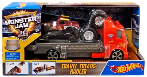 Hot Wheels Monster Jam Travel Treads Hauler El Toro Loco Die-Cast Car