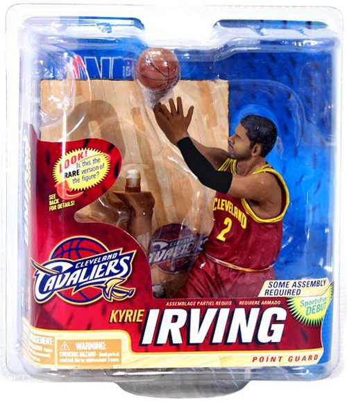 McFarlane Toys NBA Cleveland Cavaliers Sports Picks Series 22 Kyrie Irving Action Figure [Red Jersey, Damaged Package]