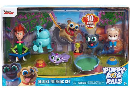 Disney Junior Puppy Dog Pals Deluxe Friends Set Figure 6-Pack [Version 1]
