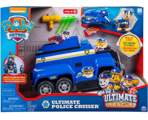 Paw Patrol Ultimate Rescue Ultimate Police Cruiser Exclusive Vehicle & Figure [Lights & Sounds]