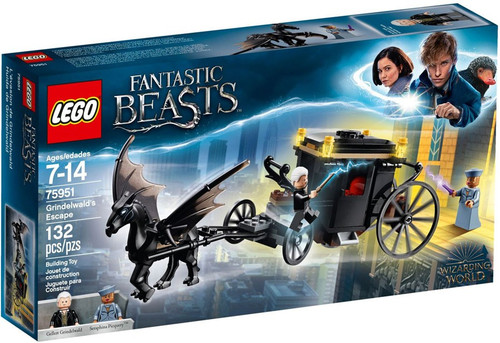 LEGO Fantastic Beasts and Where to Find Them Grindelwald's Escape Set #75951