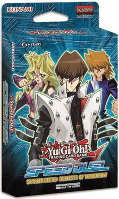 YuGiOh Trading Card Game Speed Duel Duelists of Tomorrow Starter Deck