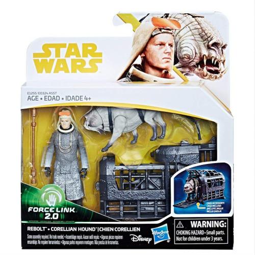 Star Wars Solo Force Link 2.0 Rebolt & Corellian Guard Action Figure 2-Pack