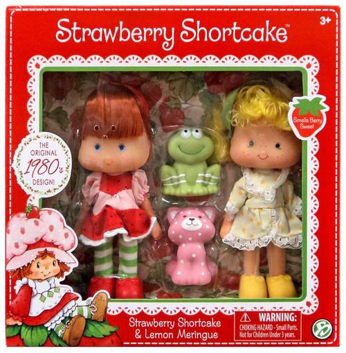 Strawberry Shortcake & Lemon Meringue 5.5-Inch Classic Doll 2-Pack