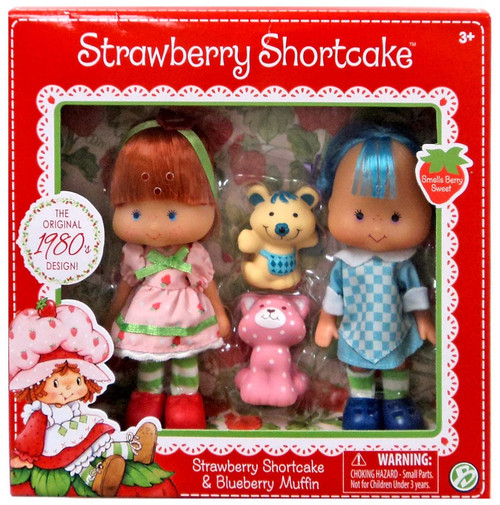 Strawberry Shortcake & Blueberry Muffin 5.5-Inch Classic Doll 2-Pack