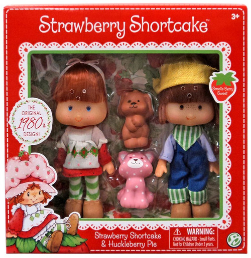 Strawberry Shortcake & Huckleberry Pie 5.5-Inch Classic Doll 2-Pack