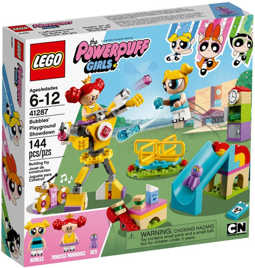 LEGO The Powerpuff Girls Bubbles' Playground Showdown Set #41287