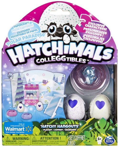 Hatchimals Colleggtibles Polar Paradise Hatchy Hangouts Exclusive Playset