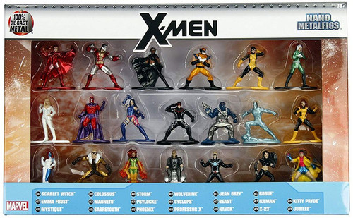 Marvel Nano Metalfigs X-Men 1.5-Inch Diecast Figure 20-Pack