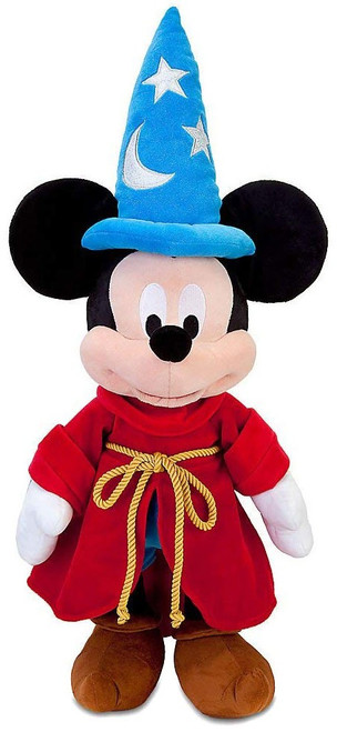 Disney Fantasia Sorcerer Mickey Mouse Exclusive 22.5-Inch Plush [Light Blue]