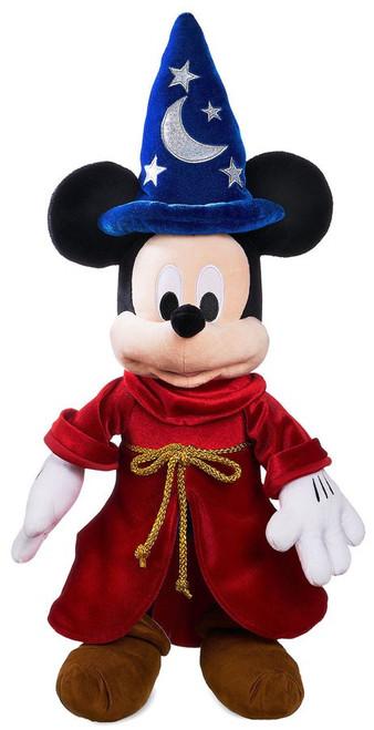 Disney Fantasia Sorcerer Mickey Mouse Exclusive 22.5-Inch Plush [Dark Blue]