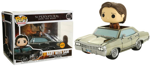Funko Supernatural POP! Rides Baby with Sam Exclusive Vinyl Figure #46 [Chrome, Chase Version]