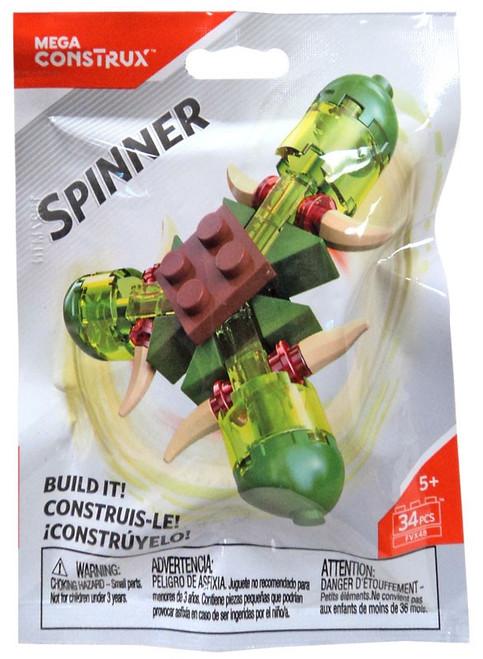 Mega Construx Spinner Green
