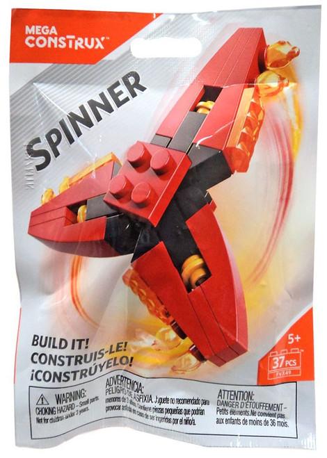 Mega Construx Spinner Red & Black