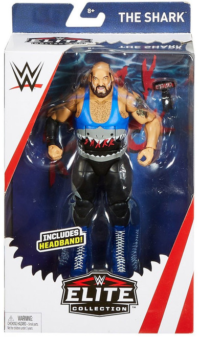 WWE Wrestling Elite The Shark Exclusive Action Figure