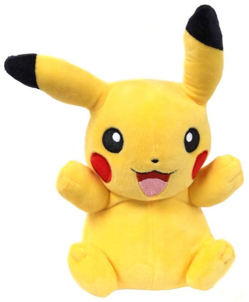 Pokemon Pikachu 8-Inch Plush [One Ear Down]
