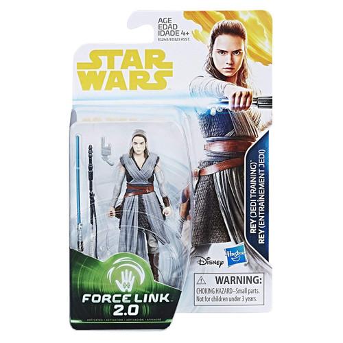 Star Wars The Last Jedi Force Link 2.0 Rey (Jedi Training) Action Figure