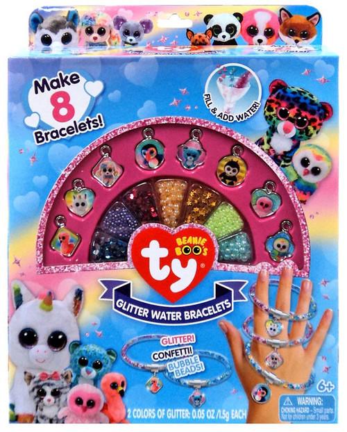 Beanie Boos Ty Glitter Water Bracelets Kit