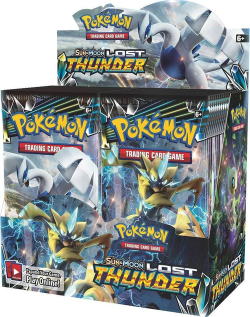 Pokemon Trading Card Game Sun & Moon Lost Thunder Booster Box [36 Packs]