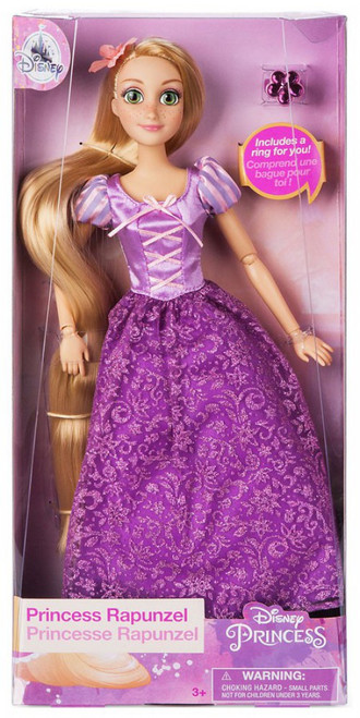 Disney Princess Tangled Classic Rapunzel Exclusive 11.5-Inch Doll [with Ring]