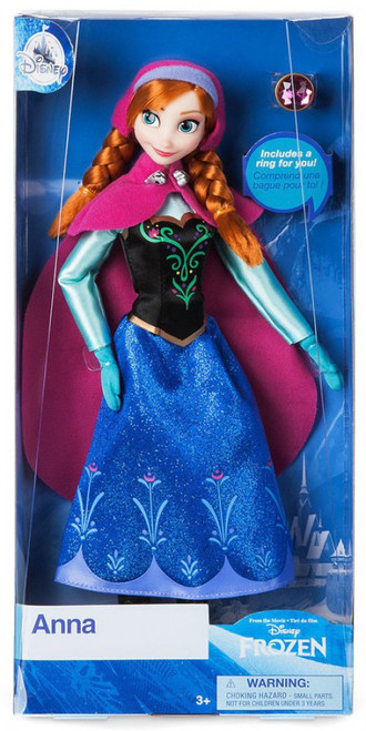 Disney Frozen Classic Anna Exclusive 11.5-Inch Doll [with Ring]