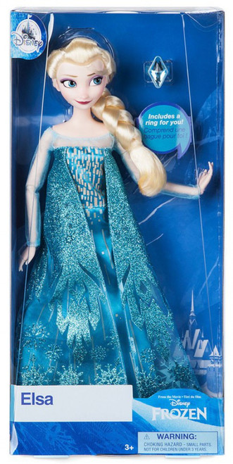 Disney Frozen Classic Elsa Exclusive 11.5-Inch Doll [with Ring]