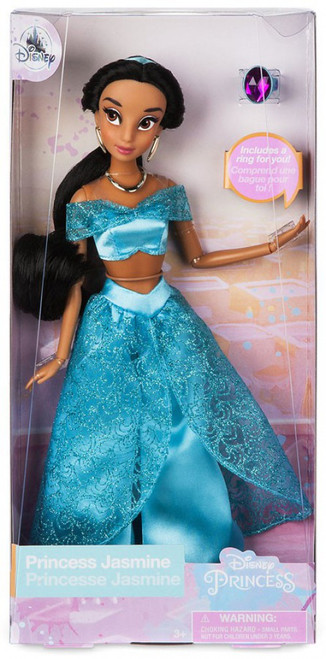 Disney Princess Aladdin Classic Princess Jasmine Exclusive 11.5-Inch Doll [with Ring]